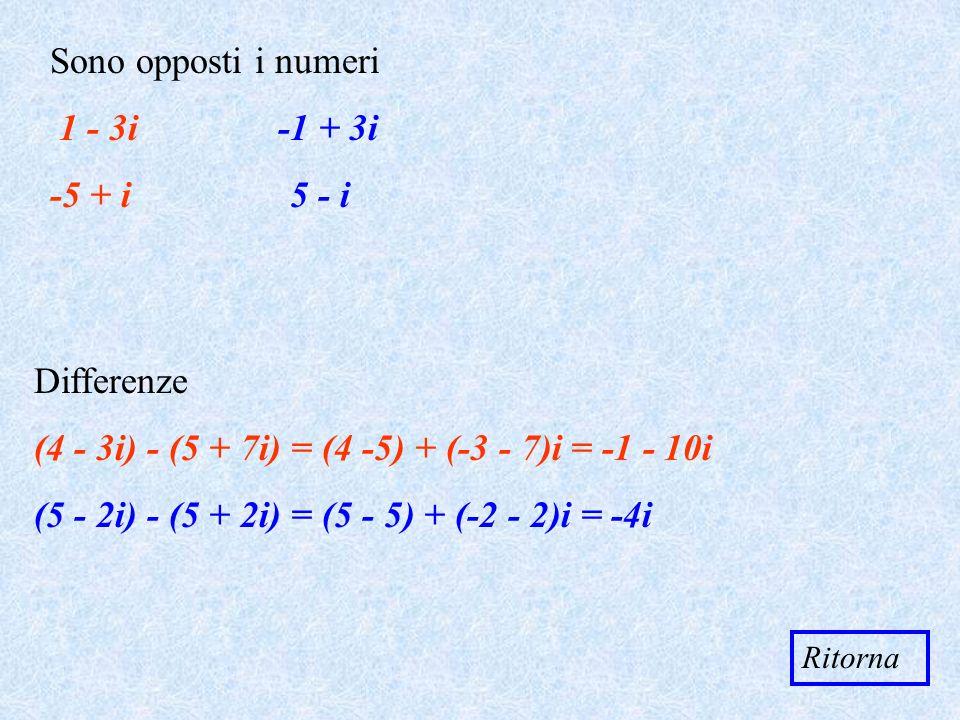 (4 - 3i) - (5 + 7i) = (4 -5) + (-3 - 7)i = -1 - 10i