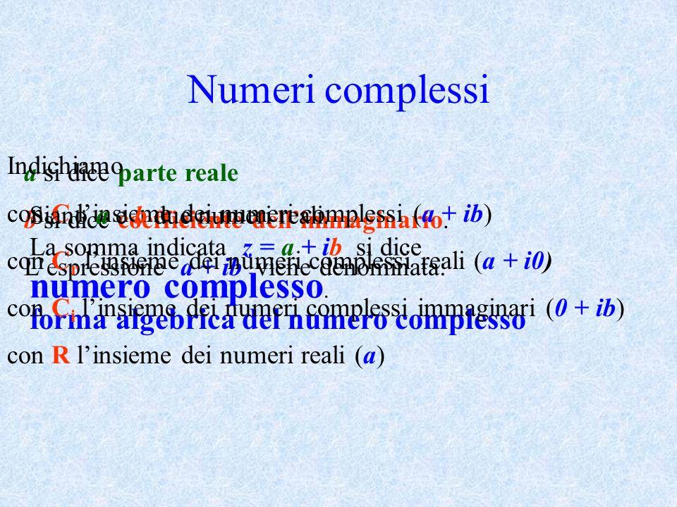 Numeri complessi