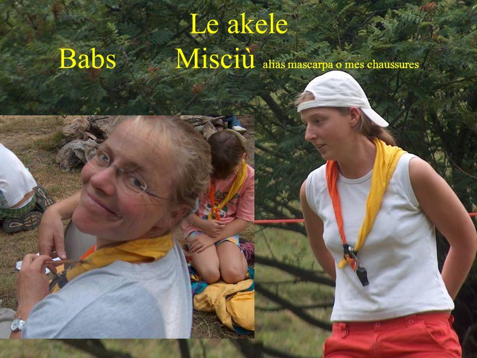 Le akele Babs Misciù alias mascarpa o mes chaussures