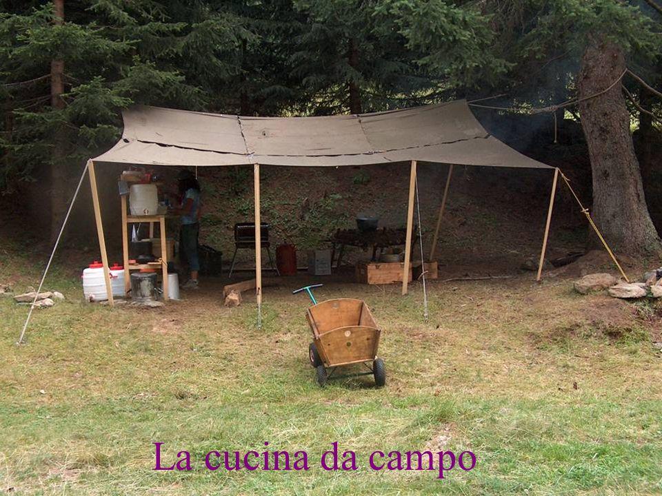 La cucina da campo