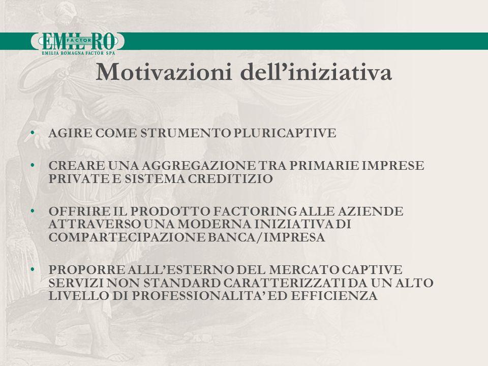 Motivazioni dell'iniziativa