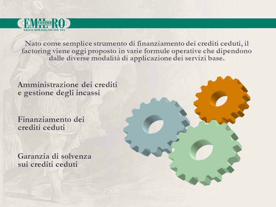 Amministrazione dei crediti e gestione degli incassi