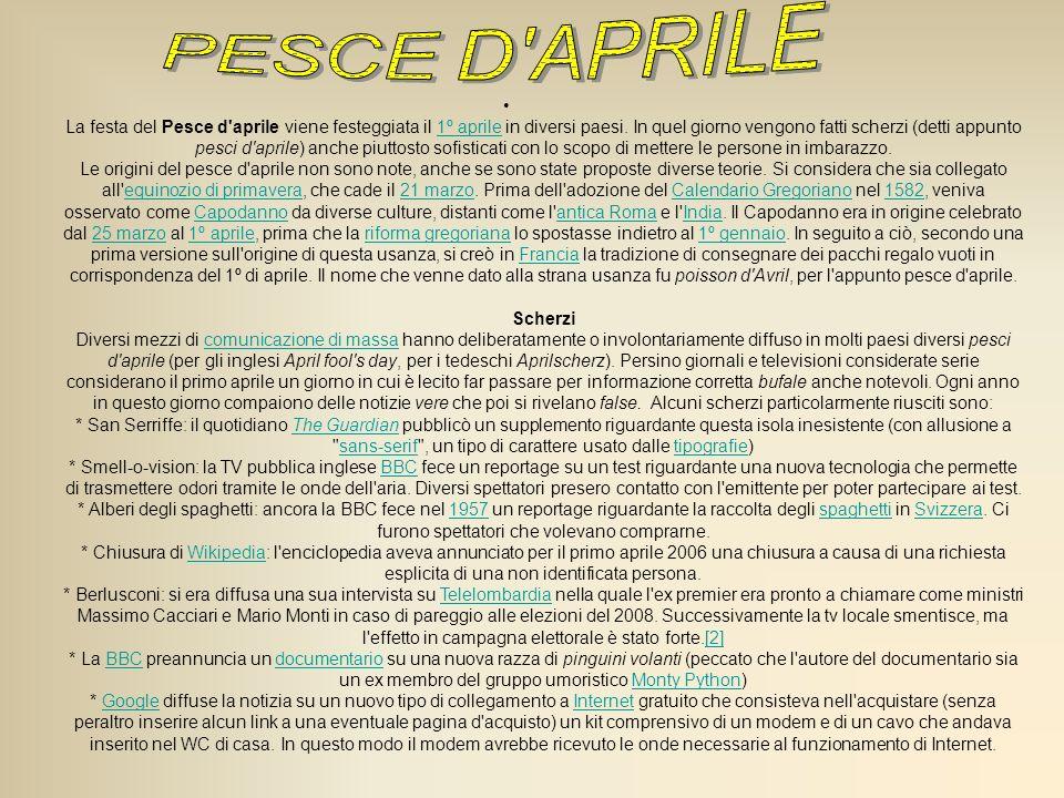 PESCE D APRILE