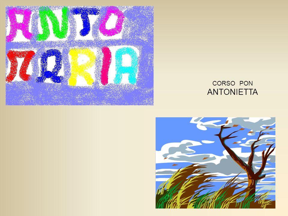 CORSO PON ANTONIETTA