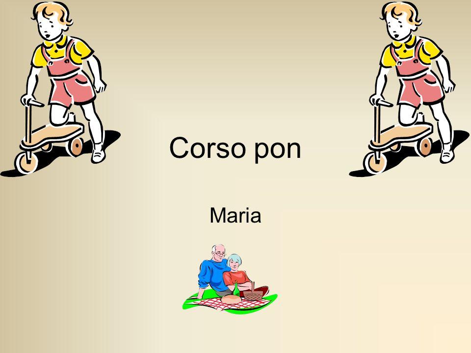 Corso pon Maria