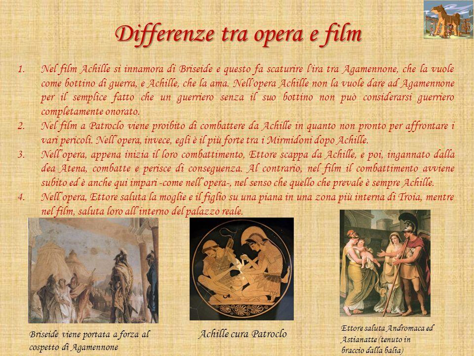 Differenze tra opera e film