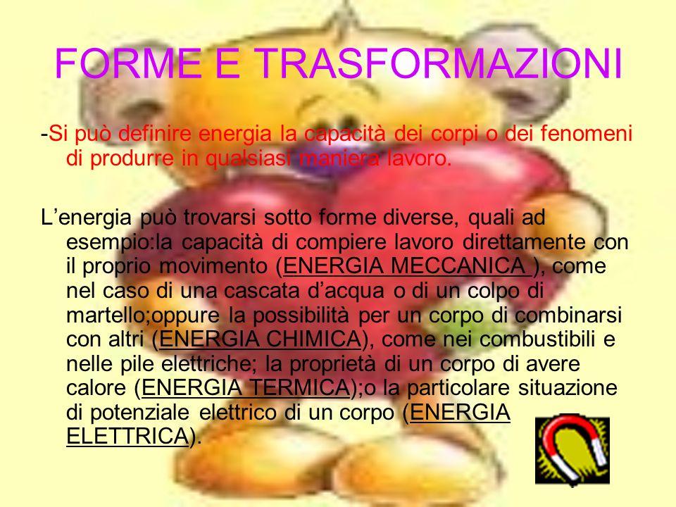 FORME E TRASFORMAZIONI