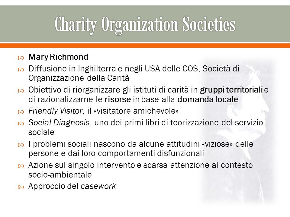 charity organization societies Charity organization societies were made up of charitable groups that used scientific philanthropy to help poor,  the charity organization society of denver,.