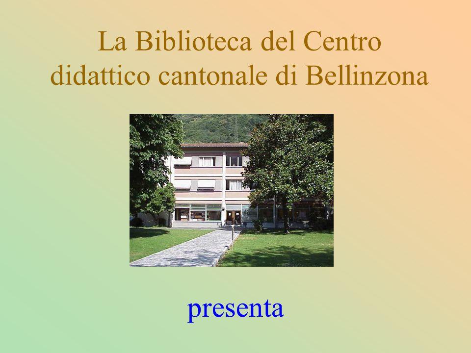 La Biblioteca del Centro didattico cantonale di Bellinzona