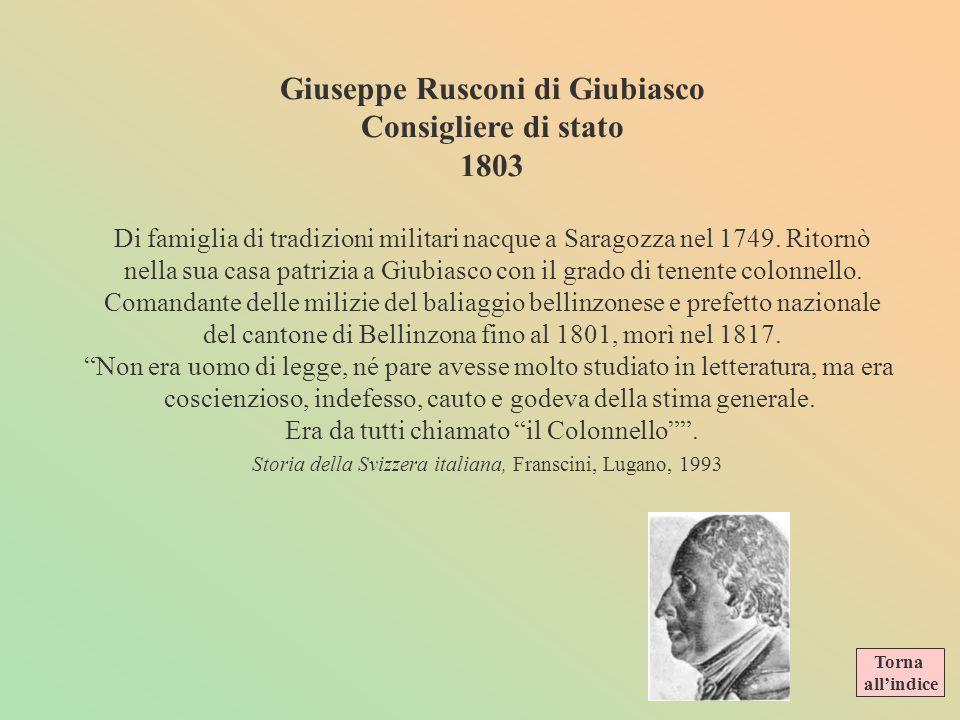 Giuseppe Rusconi di Giubiasco