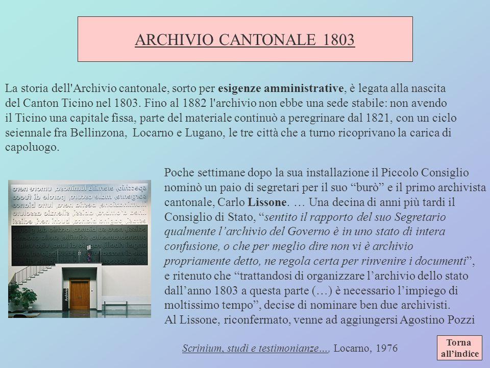 Scrinium, studi e testimonianze…, Locarno, 1976
