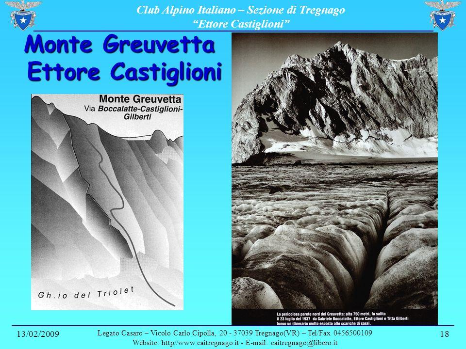 Monte Greuvetta Ettore Castiglioni