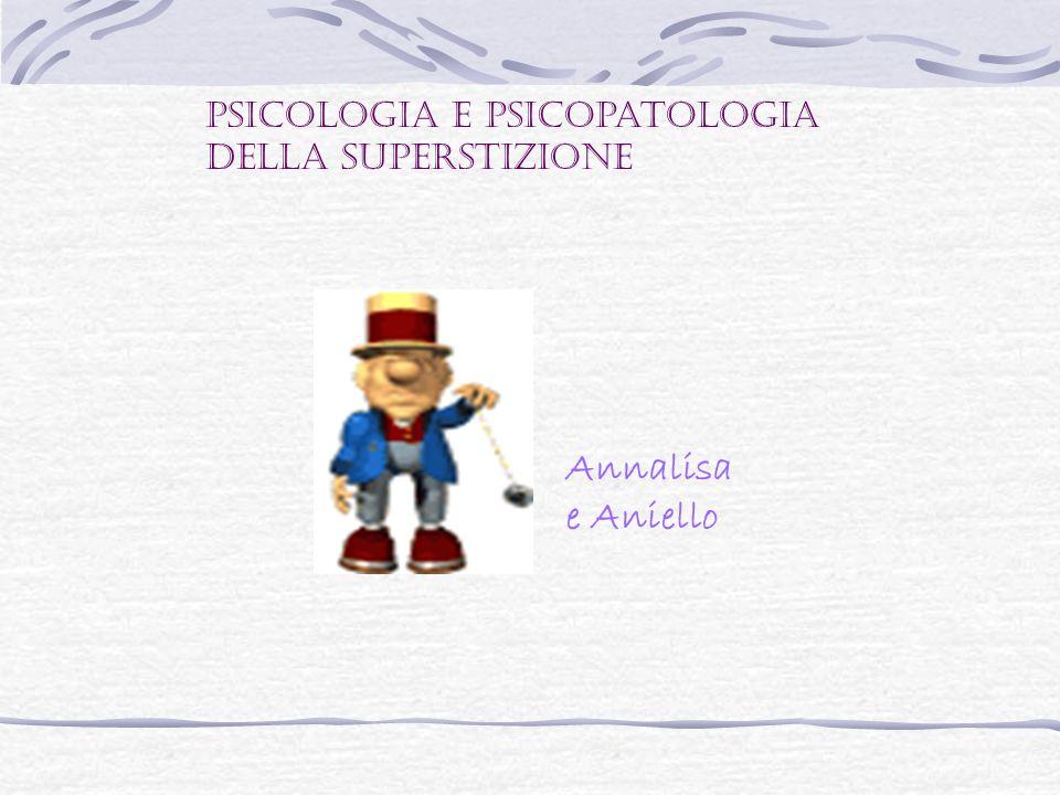 Psicologia e psicopatologia