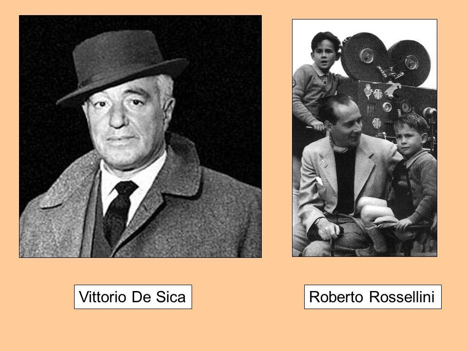Vittorio De Sica Roberto Rossellini