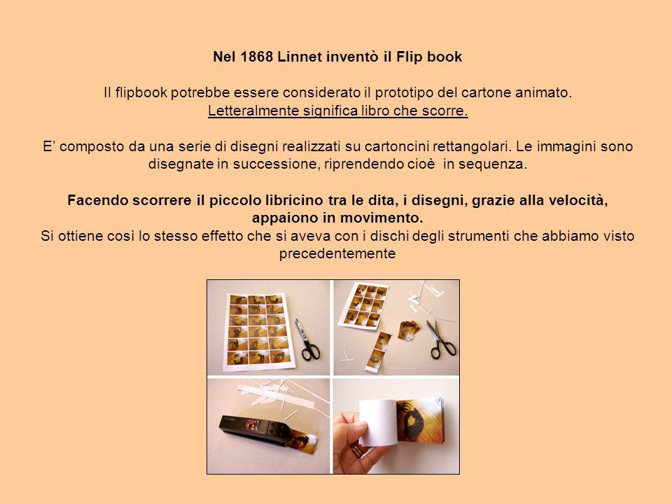 Nel 1868 Linnet inventò il Flip book