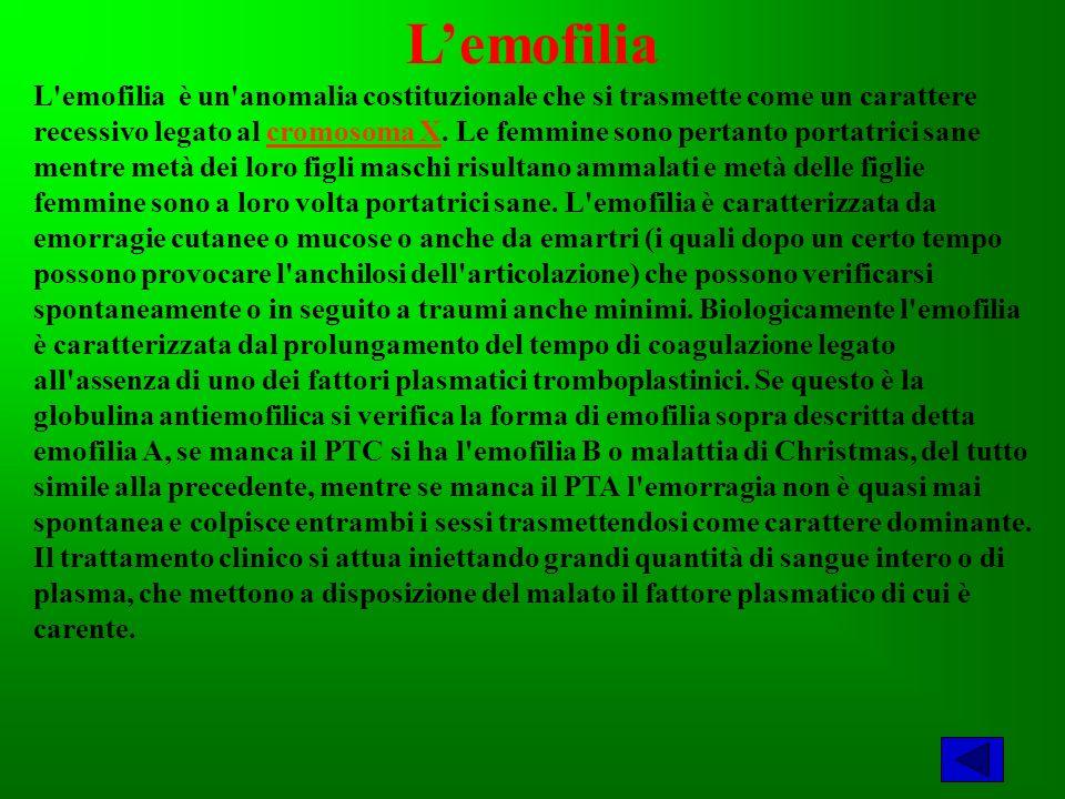 L'emofilia