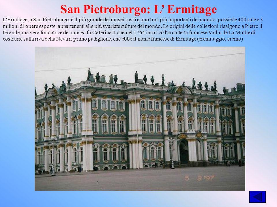 San Pietroburgo: L' Ermitage