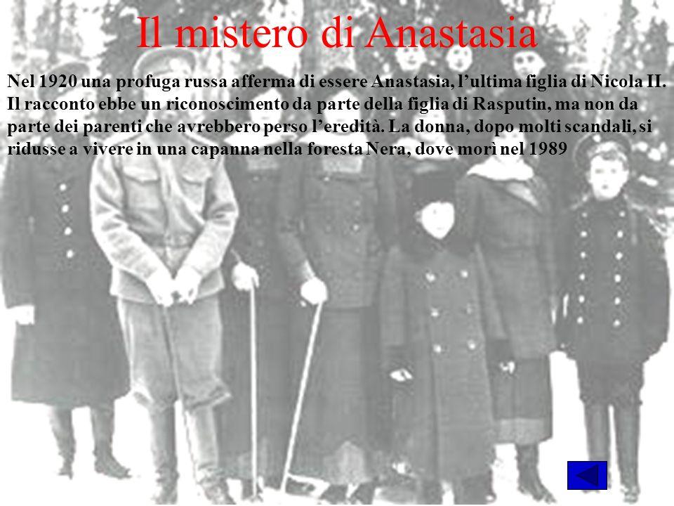 Il mistero di Anastasia