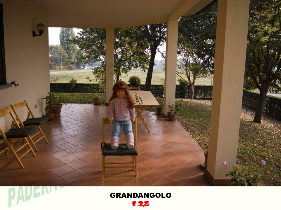 GRANDANGOLO f 3,5 GRANDANGOLO f 22