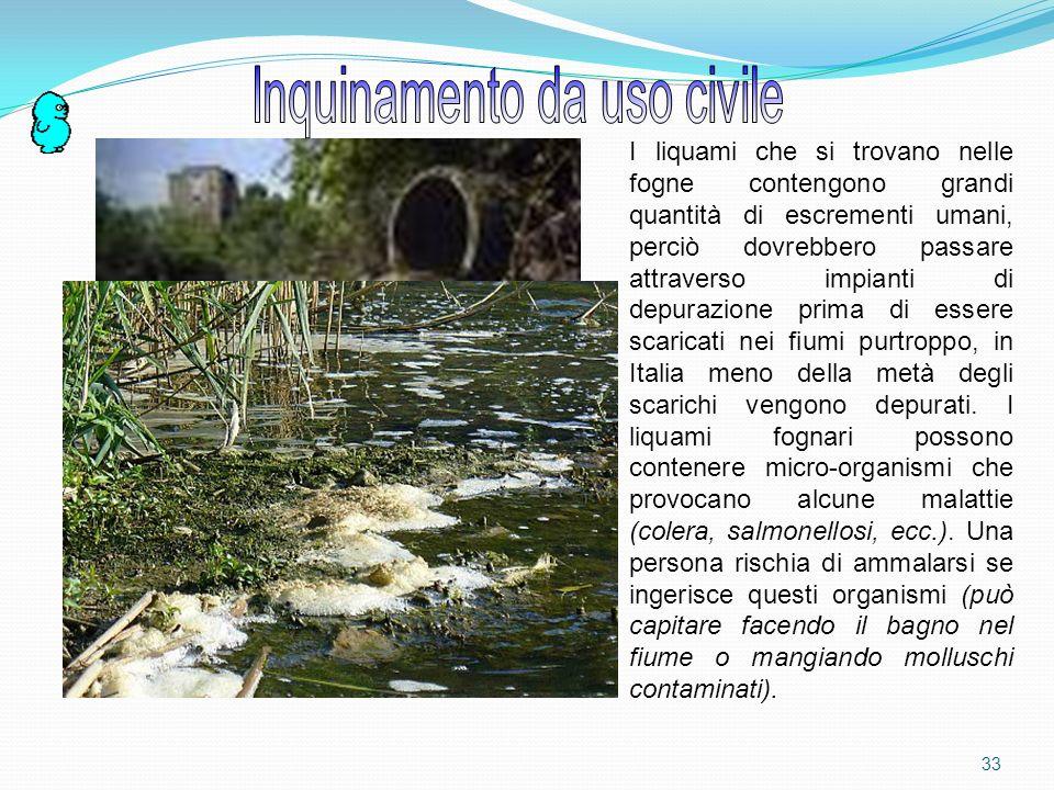 Inquinamento da uso civile