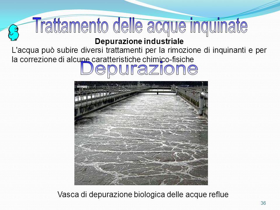 Trattamento delle acque inquinate