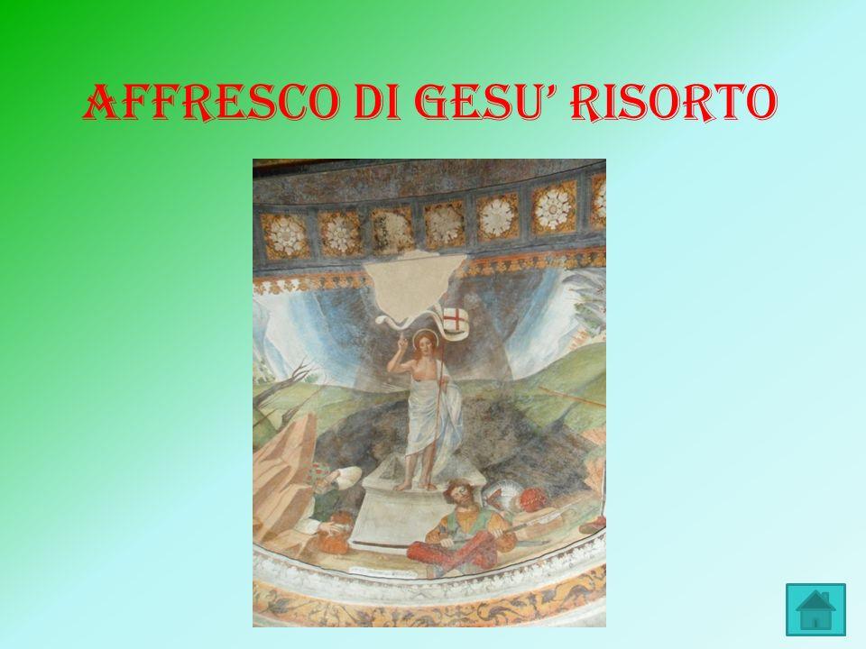 AFFRESCO DI GESU' RISORTO