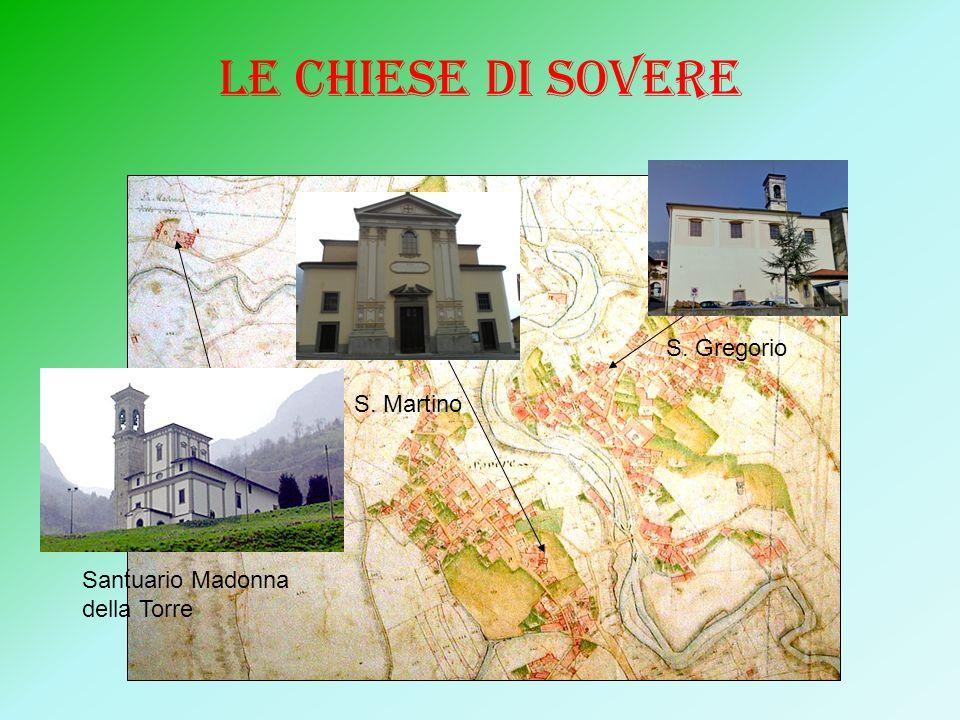 LE CHIESE DI SOVERE S. Gregorio S. Martino