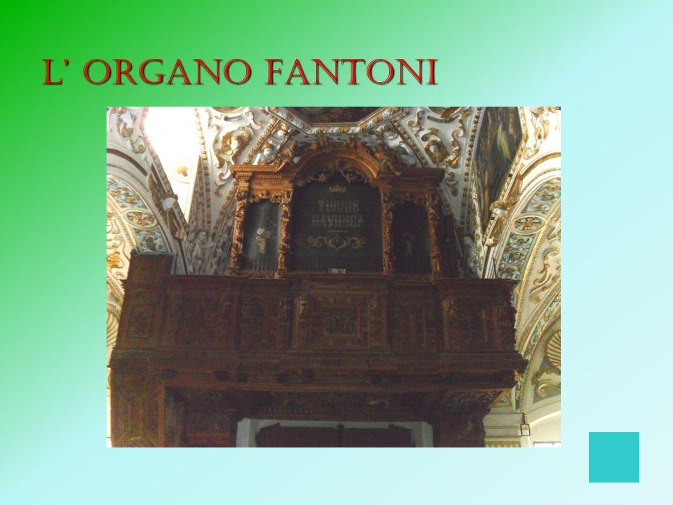 L' organo Fantoni