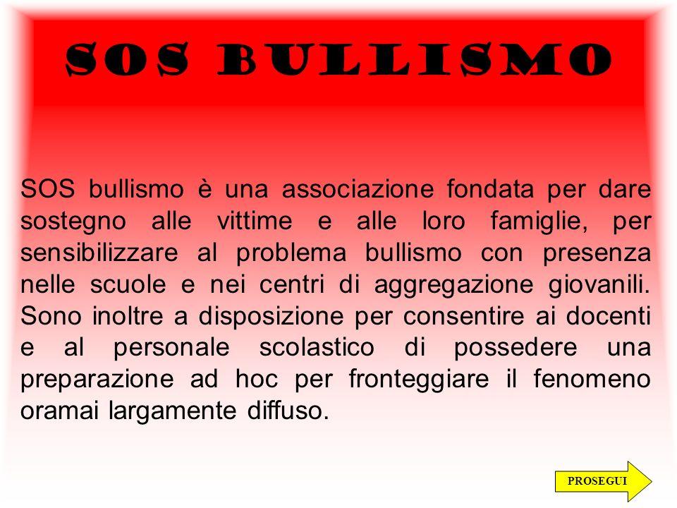 SOS BULLISMO