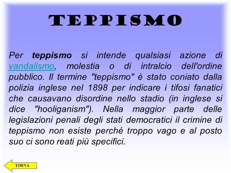 TEPPISMO