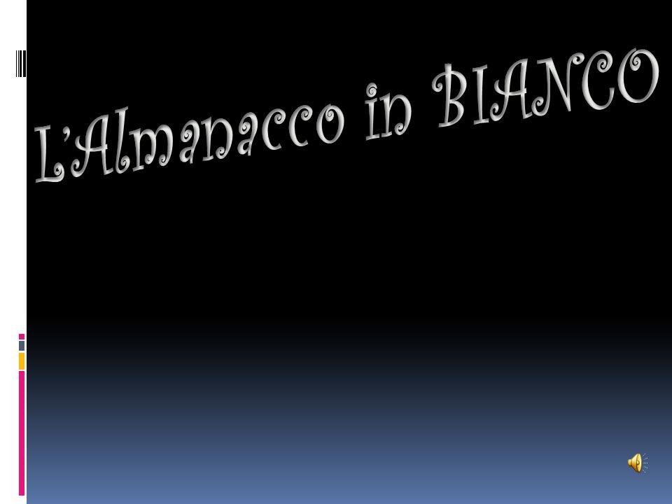 L'Almanacco in BIANCO