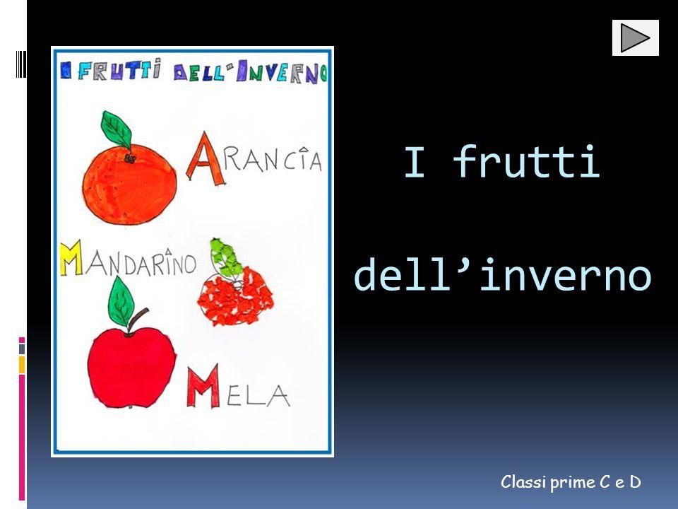 I frutti dell'inverno Classi prime C e D