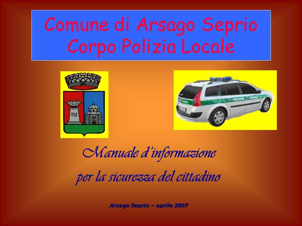 Manuale d'informazione per la sicurezza del cittadino