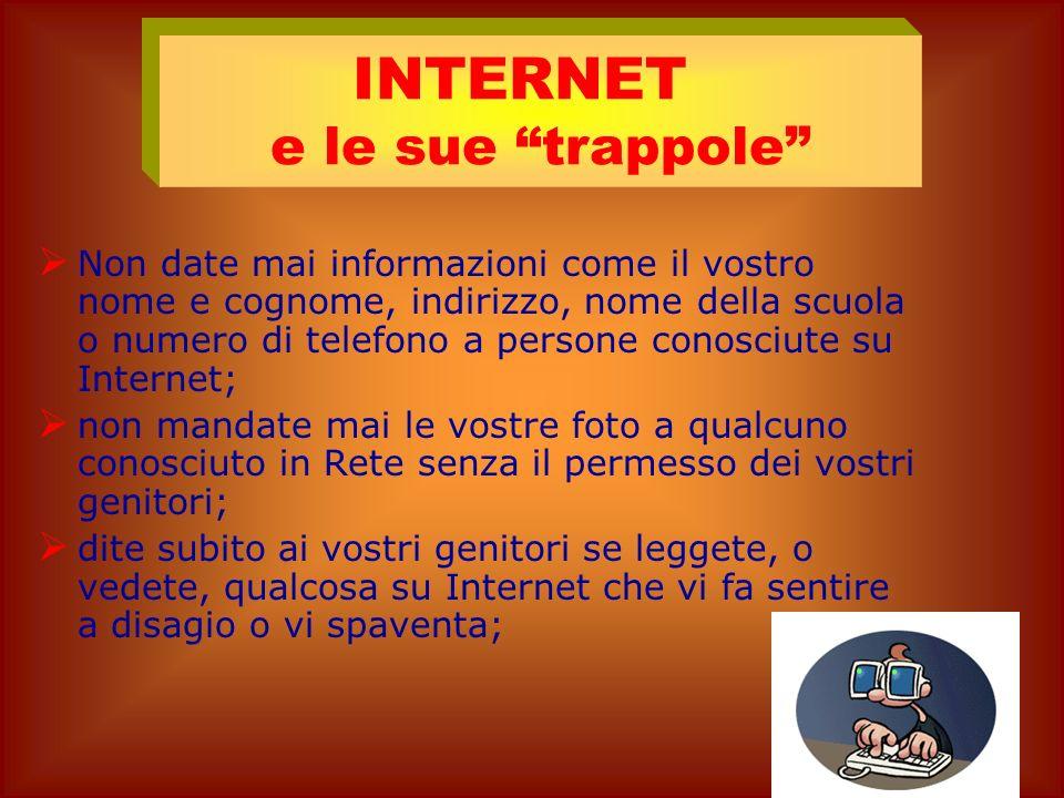 INTERNET e le sue trappole