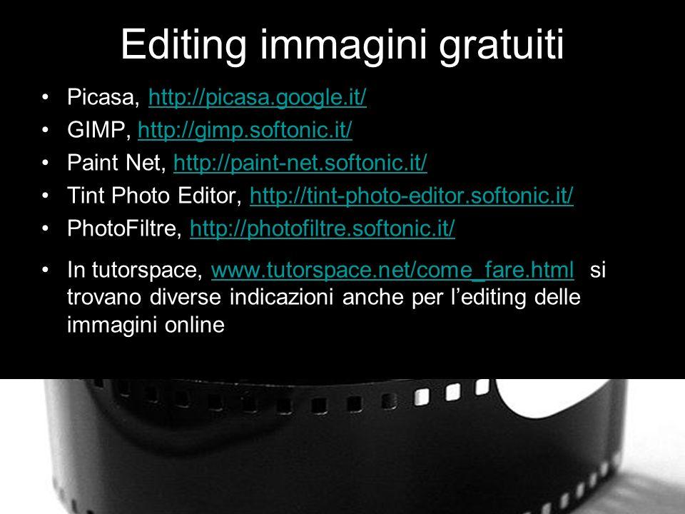 Editing immagini gratuiti