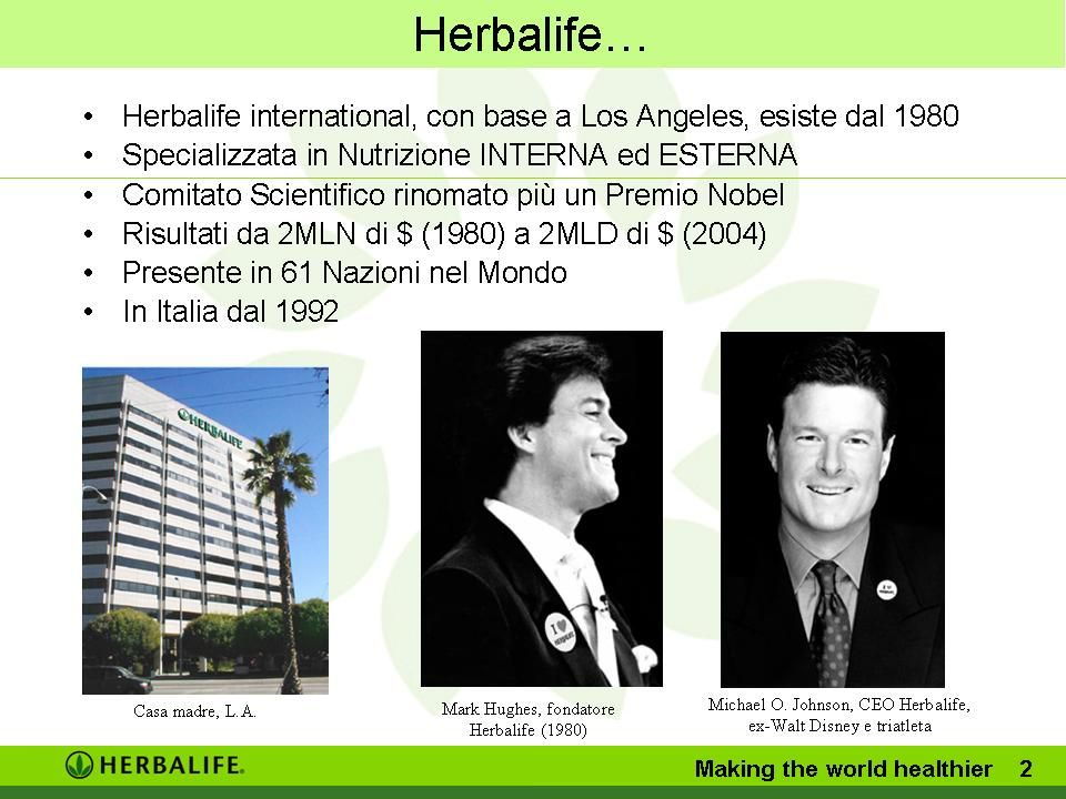 Herbalife… Making the world healthier 2