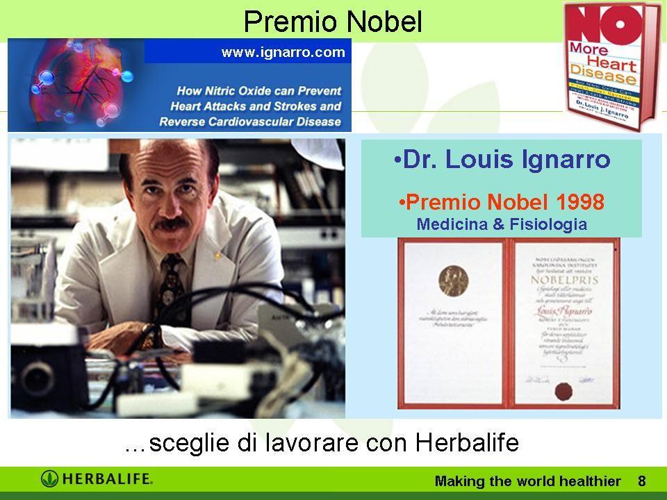 Premio Nobel 1998 Medicina & Fisiologia