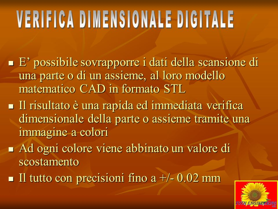 VERIFICA DIMENSIONALE DIGITALE