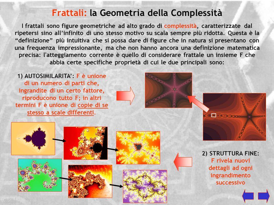 Frattali: la Geometria della Complessità