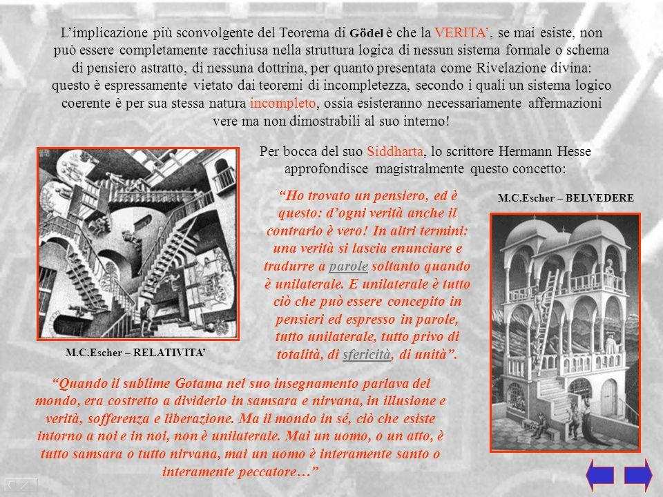 M.C.Escher – RELATIVITA'