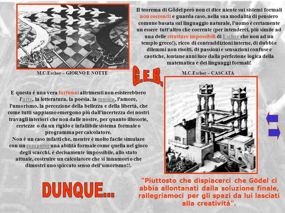 M.C.Escher – GIORNO E NOTTE