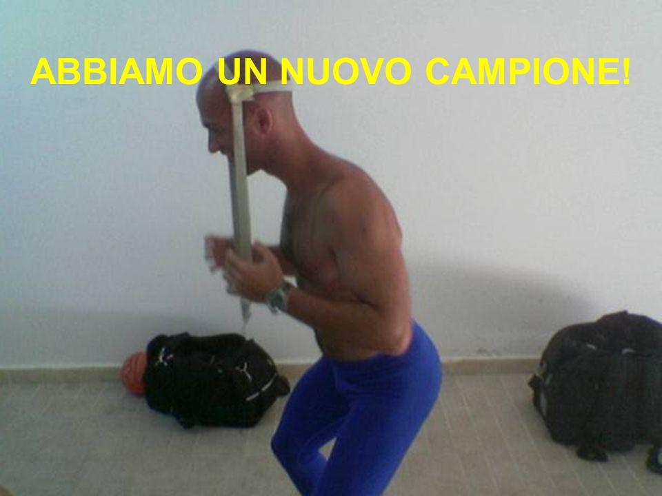 ABBIAMO UN NUOVO CAMPIONE!