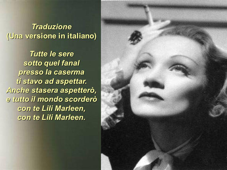 Traduzione (Una versione in italiano)