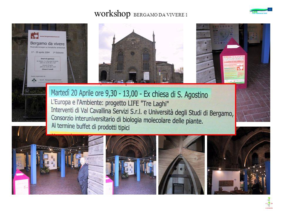workshop BERGAMO DA VIVERE 1