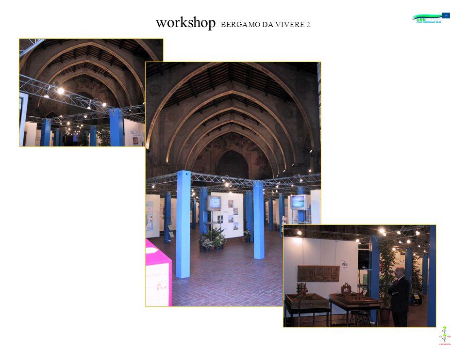 workshop BERGAMO DA VIVERE 2