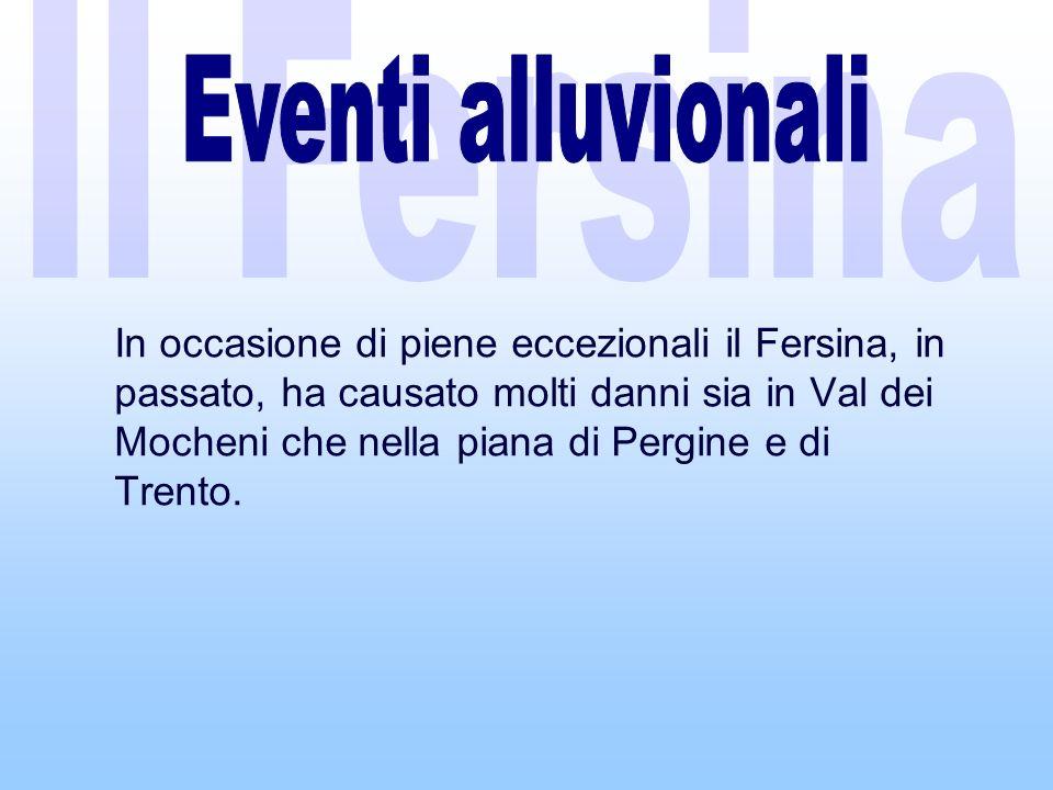 Il Fersina Eventi alluvionali