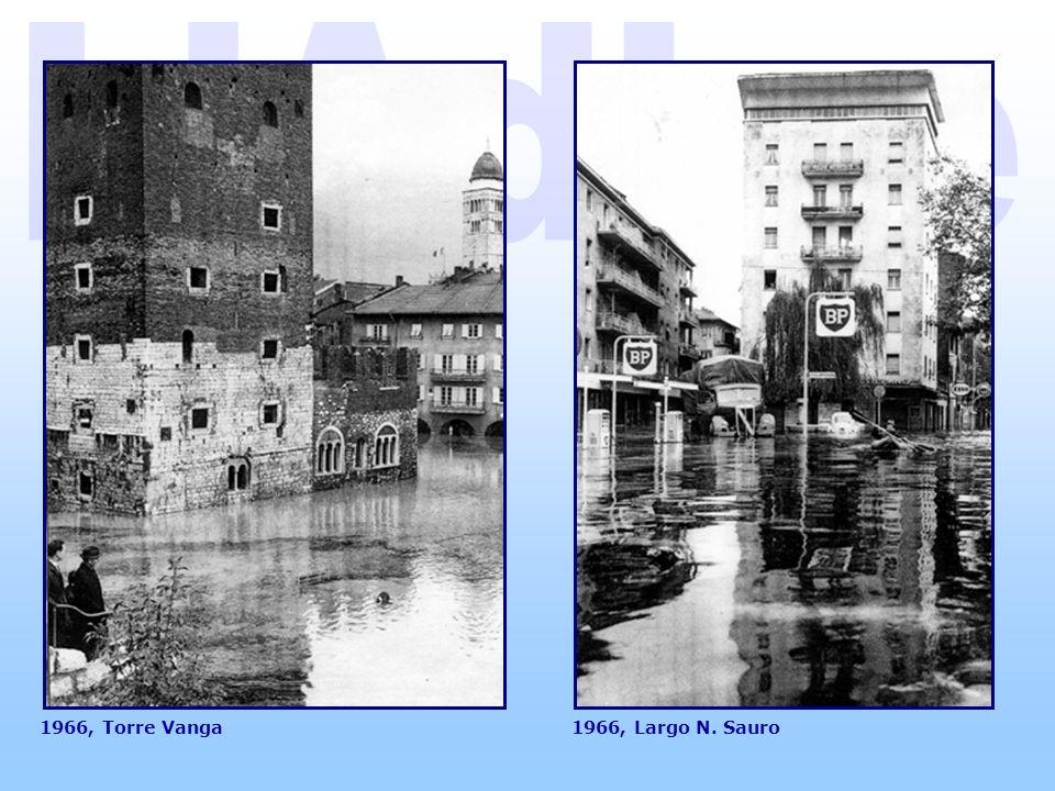 L Adige 1966, Torre Vanga 1966, Largo N. Sauro