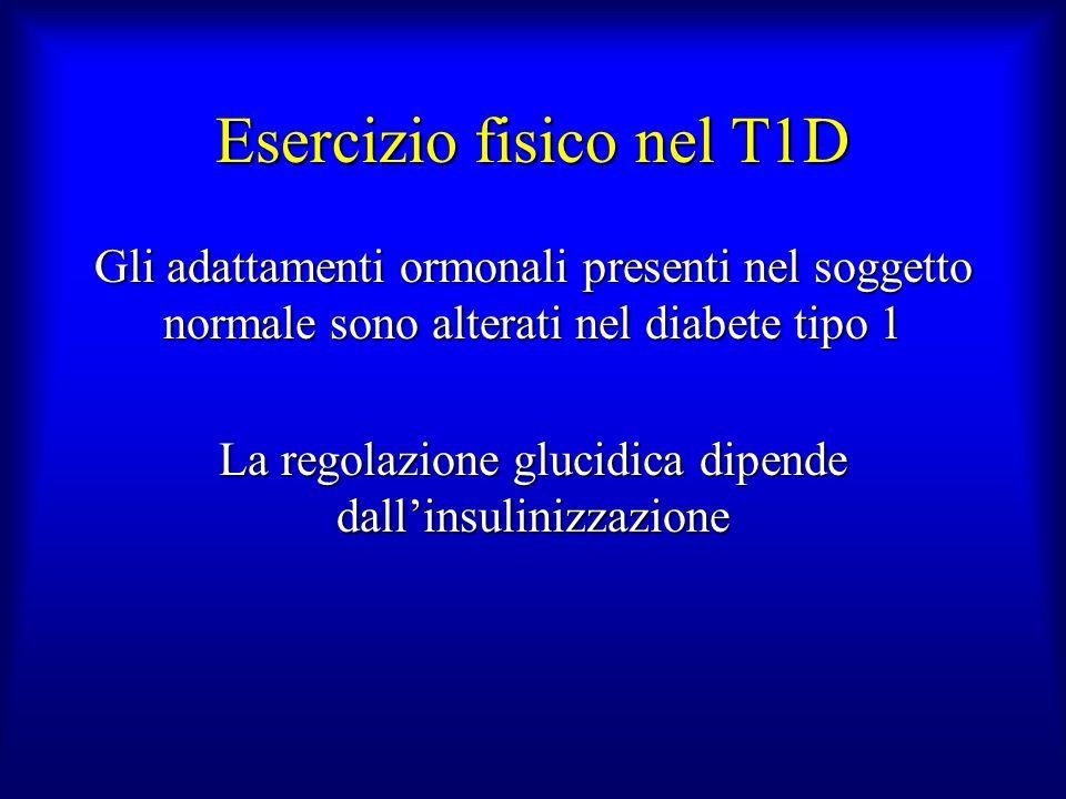 Esercizio fisico nel T1D