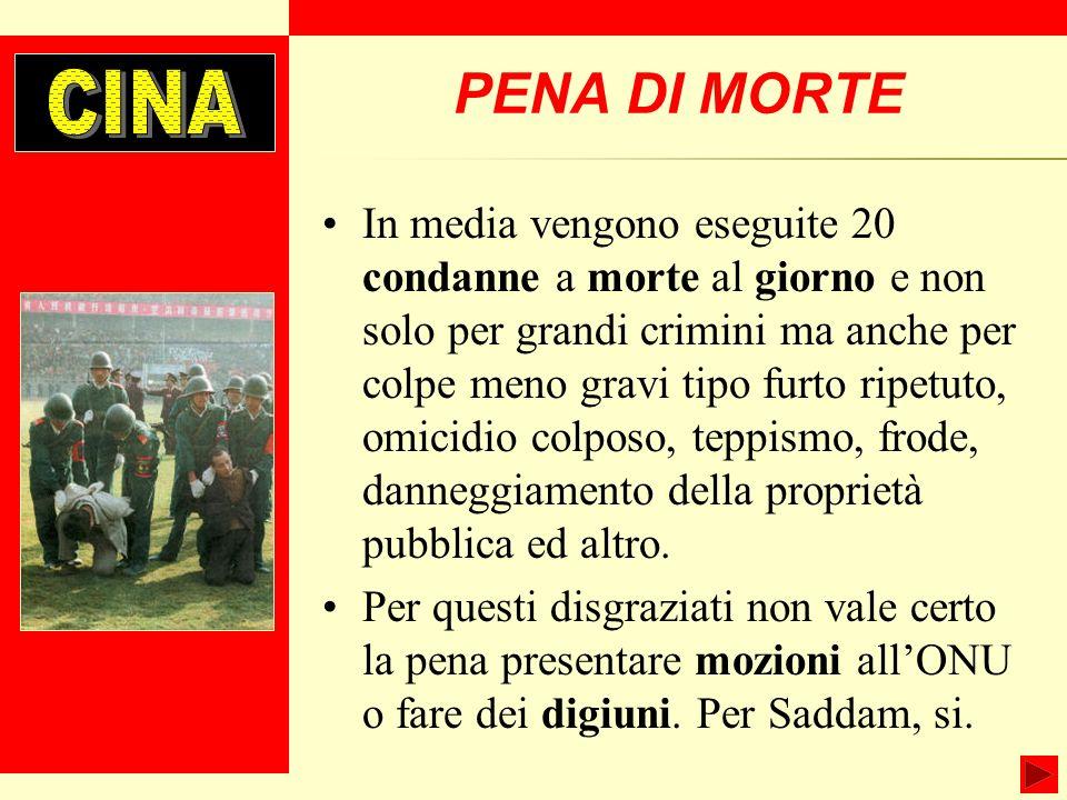 CINAPENA DI MORTE.