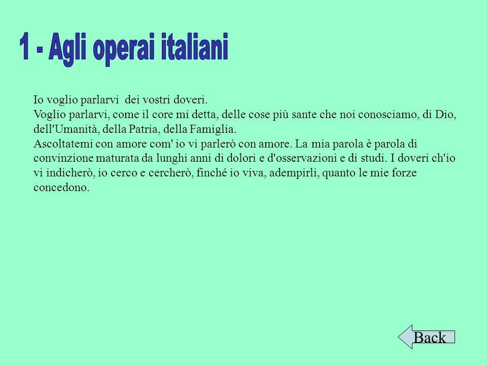 1 - Agli operai italiani Back